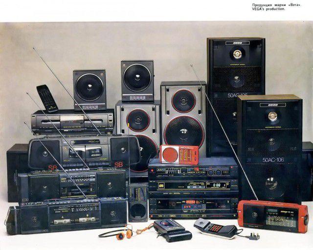 """Старые магнитофоны фирмы """"Вега"""", интересные фотографии, модели Вега (1)"""