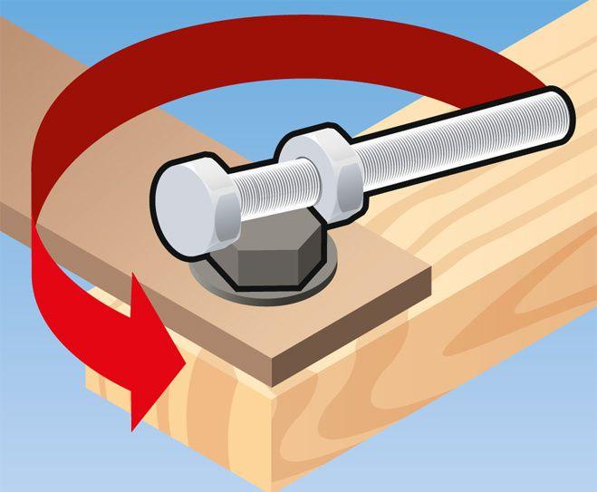 Как открутить гайку без ключа? (3)
