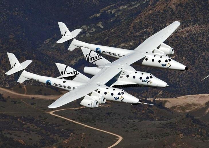 Тестовый полет сверхзвукового SpaceShipTwo