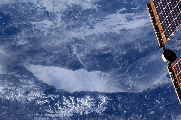 Озеро Байкал, вид из космоса