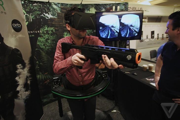 Как работает комплект виртуальной реальности Omni (6)
