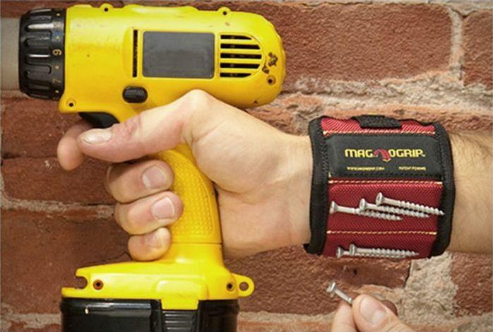 Магнитный браслет — простое и полезное приспособление (3)