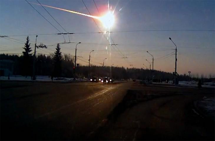 Фото распиленного челябинского метеорита (2)