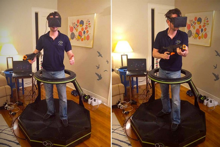 Как работает комплект виртуальной реальности Omni (2)