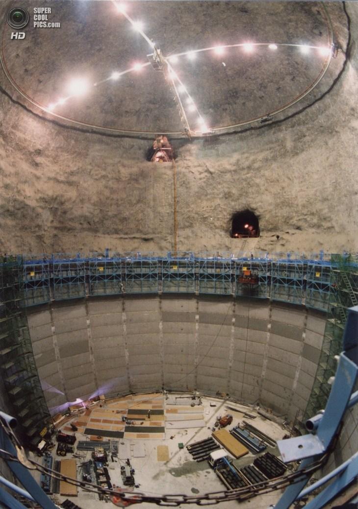 Нейтринный детектор Super-Kamiokande (4)