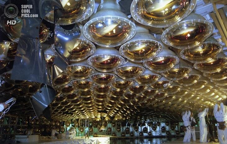 Нейтринный детектор Super-Kamiokande (6)