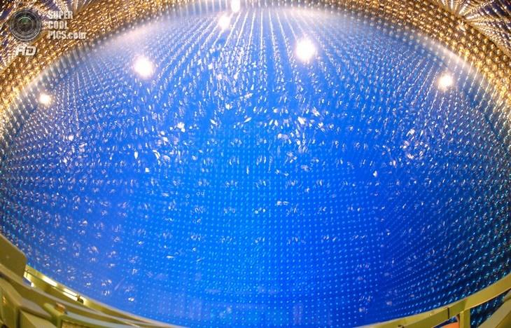 Нейтринный детектор Super-Kamiokande (8)