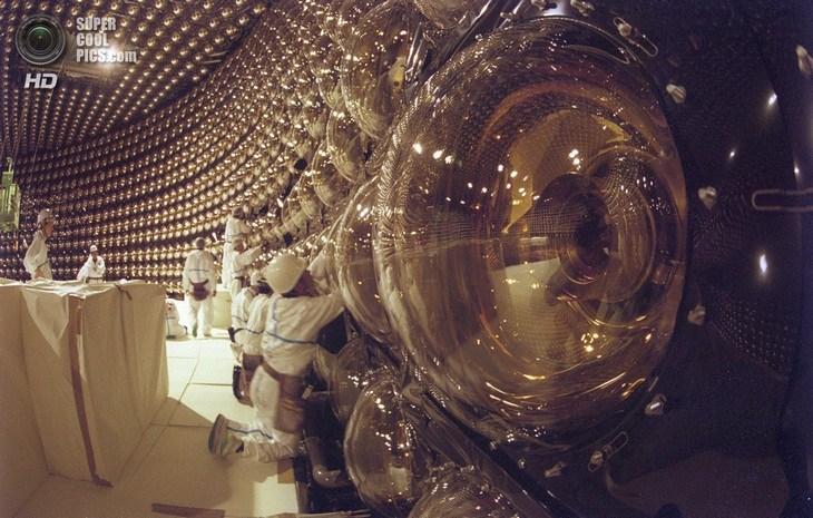 Нейтринный детектор Super-Kamiokande (10)