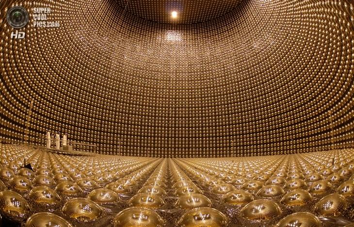 Нейтринный детектор Super-Kamiokande (11)