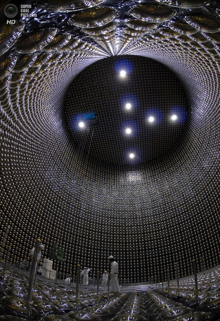 Нейтринный детектор Super-Kamiokande (12)