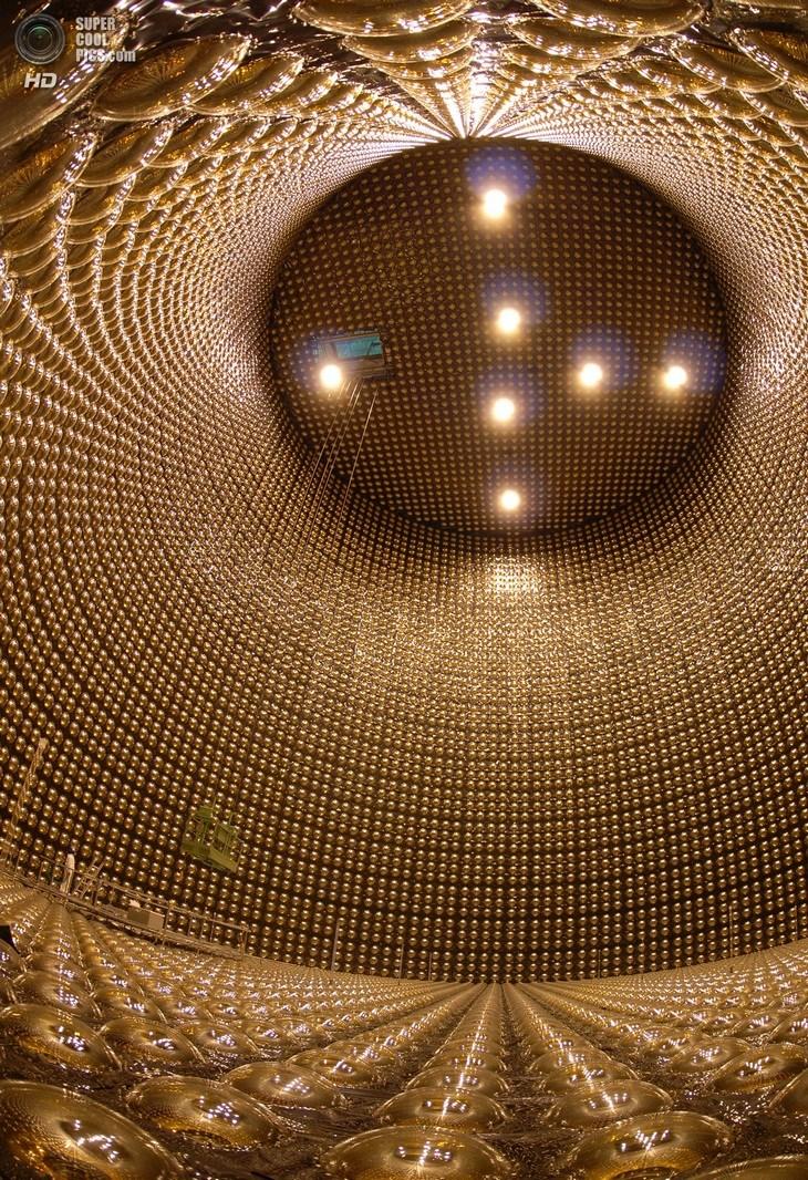 Нейтринный детектор Super-Kamiokande (13)