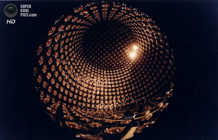 Нейтринный детектор Super-Kamiokande (14)