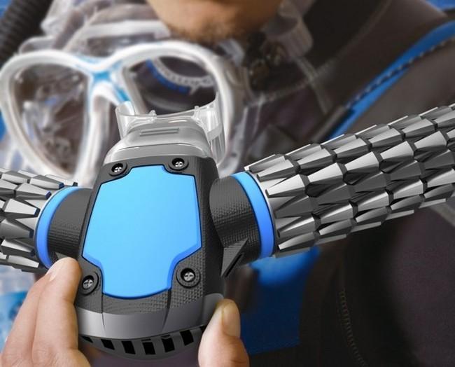 Революционная дайверская маска, которая создаёт кислород прямо под водой (5)
