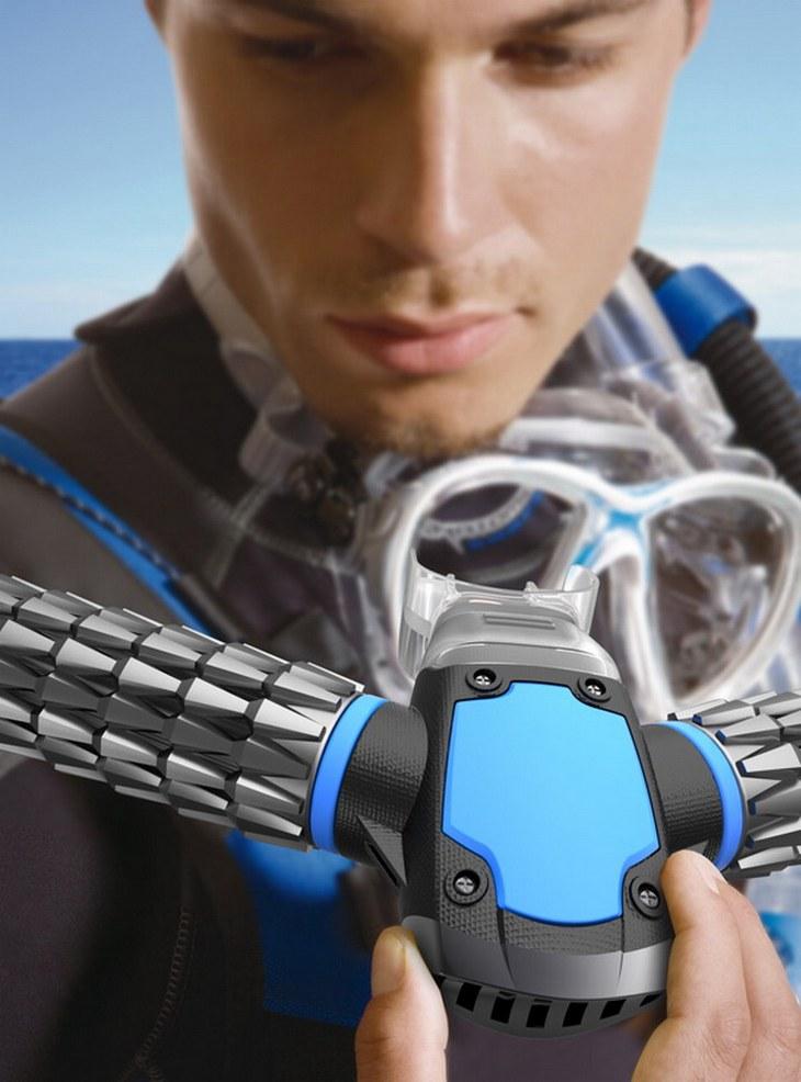 Революционная дайверская маска, которая создаёт кислород прямо под водой (1)