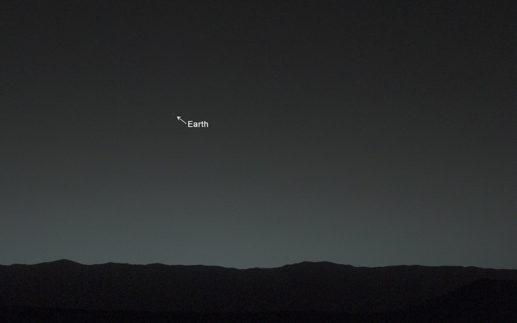 Как выглядит Земля с Марса, Как выглядит Земля с Марса, фото Земли с Марса