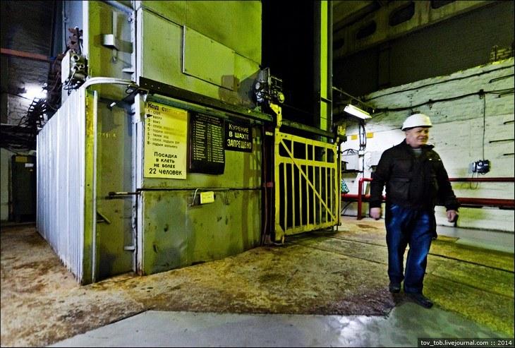 Как добывают соль. Солевая шахта (5)
