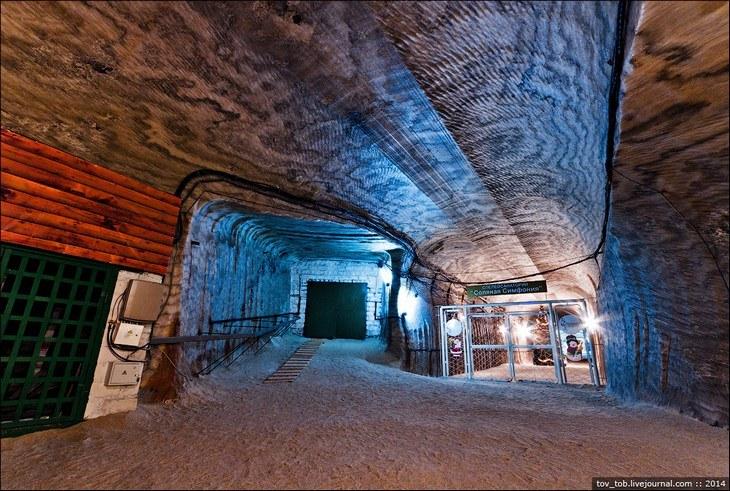 Как добывают соль. Солевая шахта (15)