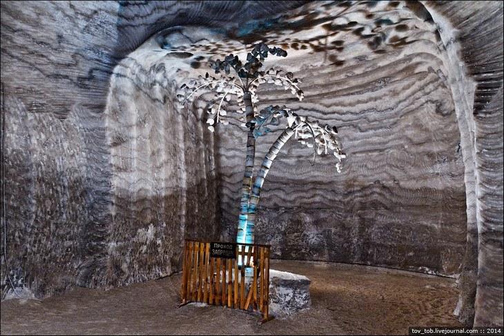 Как добывают соль. Солевая шахта (16)