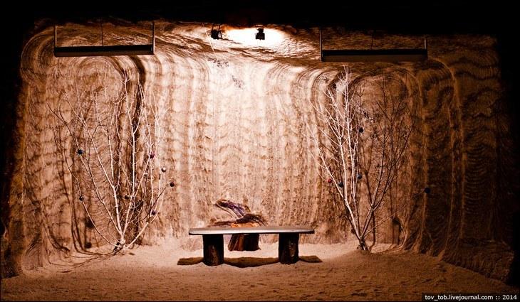 Как добывают соль. Солевая шахта (22)
