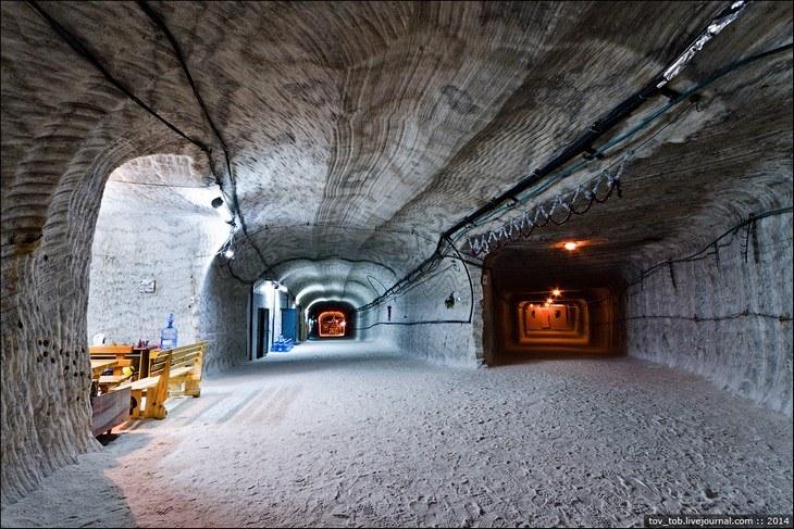 Как добывают соль. Солевая шахта (24)