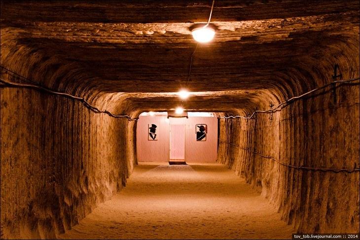 Как добывают соль. Солевая шахта (25)