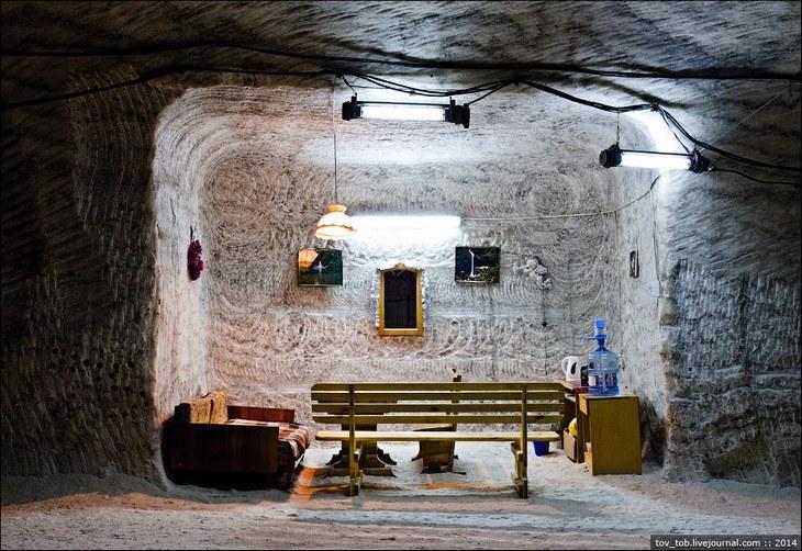 Как добывают соль. Солевая шахта (27)