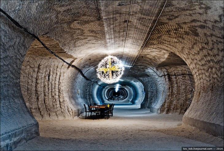 Как добывают соль. Солевая шахта (28)