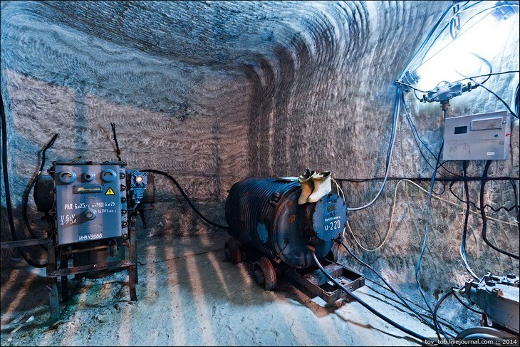 Как добывают соль. Солевая шахта (32)
