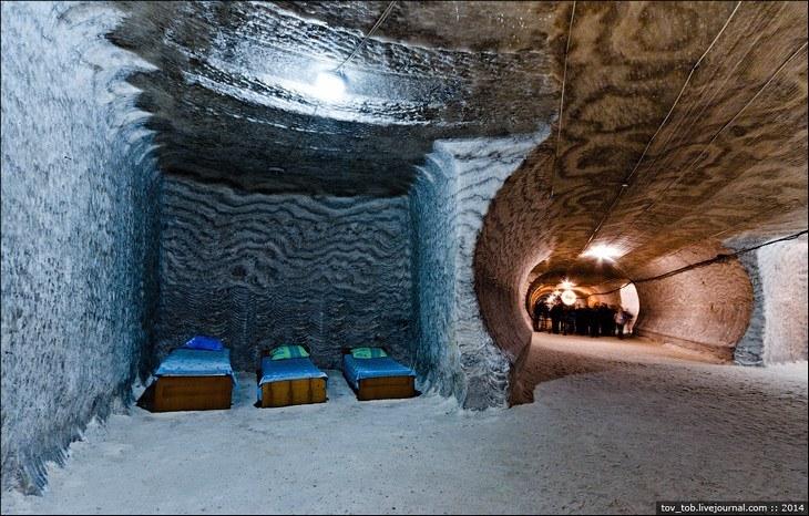 Как добывают соль. Солевая шахта (33)