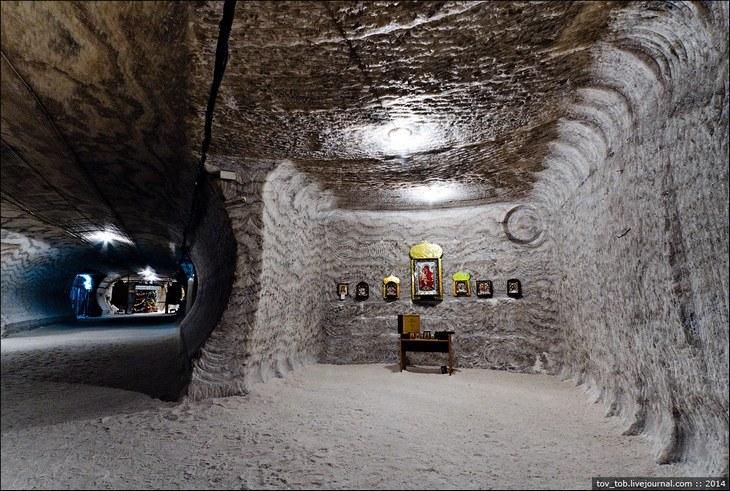 Как добывают соль. Солевая шахта (34)