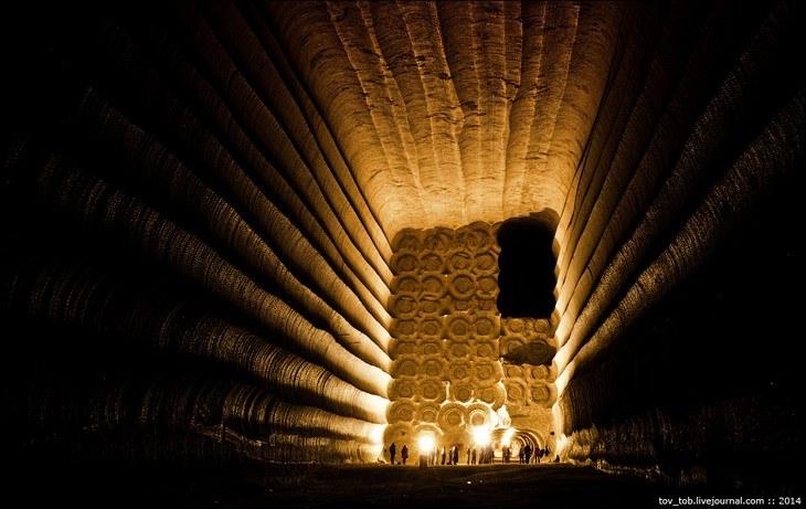 Как добывают соль. Солевая шахта (38)