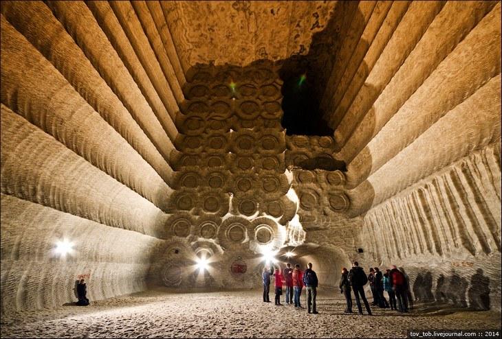 Как добывают соль. Солевая шахта (40)