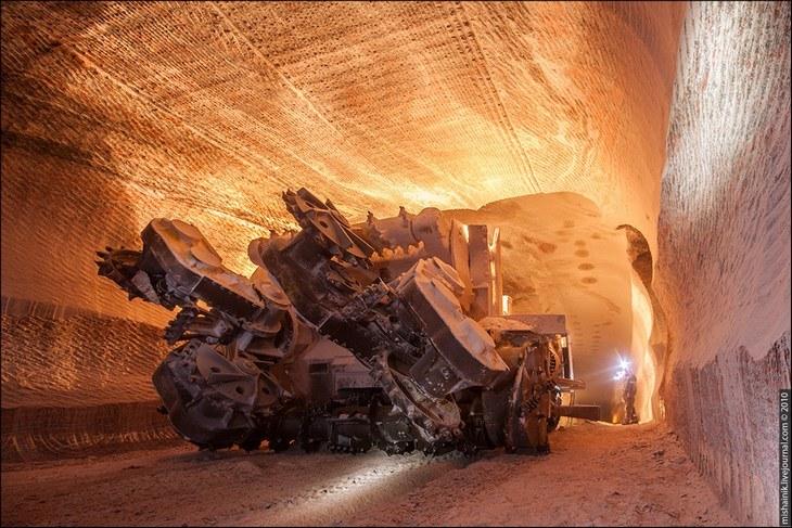 Как добывают соль. Солевая шахта (41)