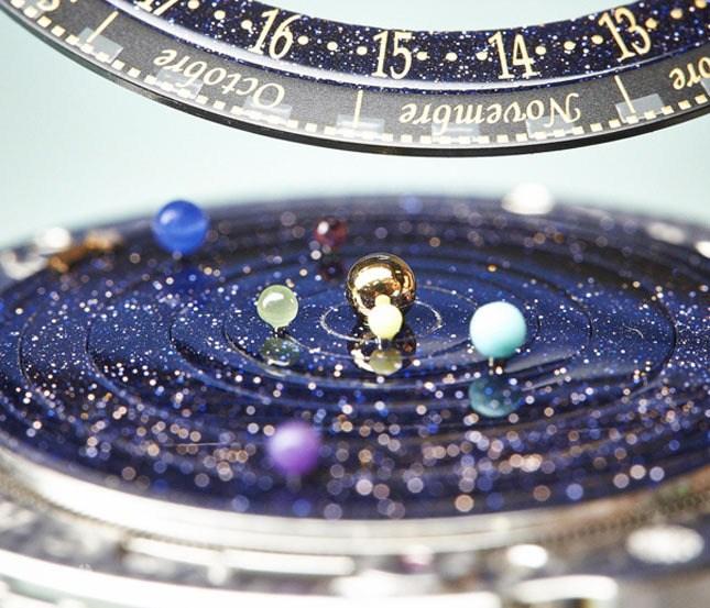 """""""Космические"""" часы Poétique Midnight Planétarium (2)"""