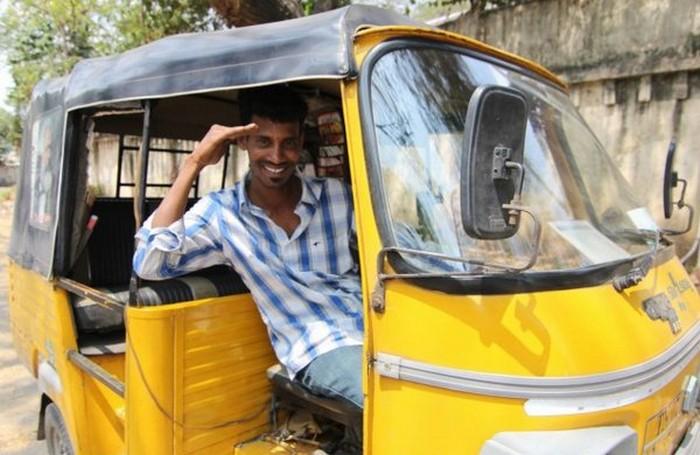 Такси с комфортом по-индийски (4)