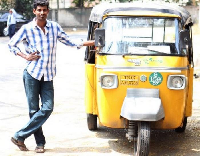Такси с комфортом по-индийски (2)
