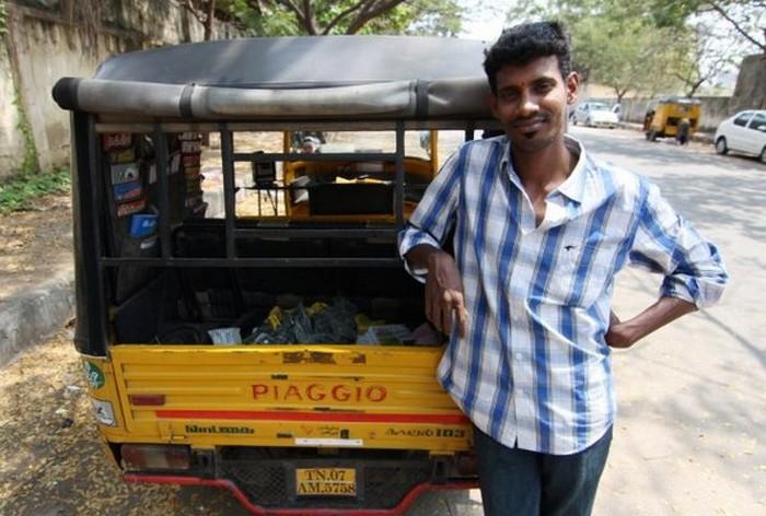 Такси с комфортом по-индийски (14)