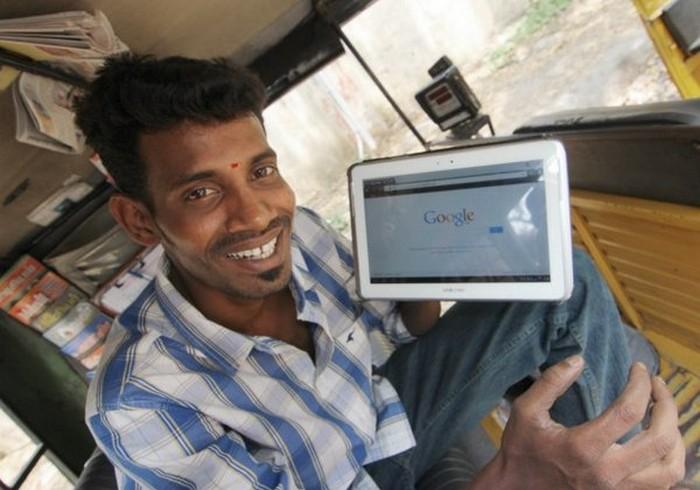 Такси с комфортом по-индийски (5)
