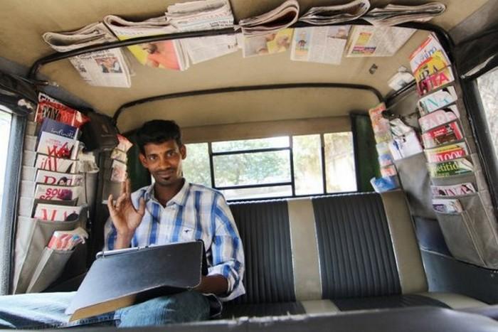 Такси с комфортом по-индийски (6)