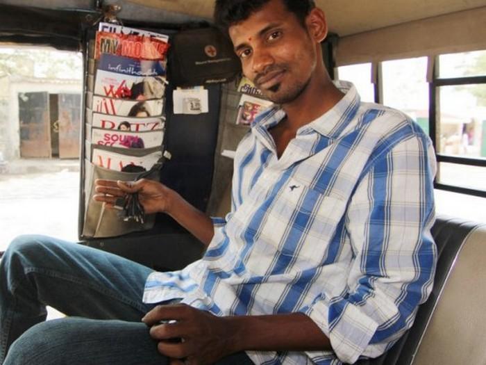 Такси с комфортом по-индийски (11)