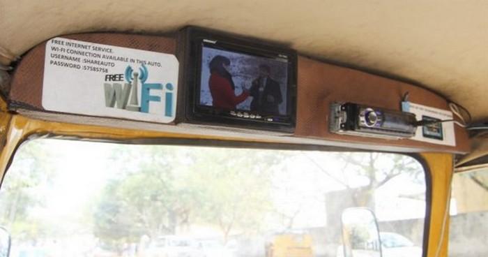 Такси с комфортом по-индийски (3)