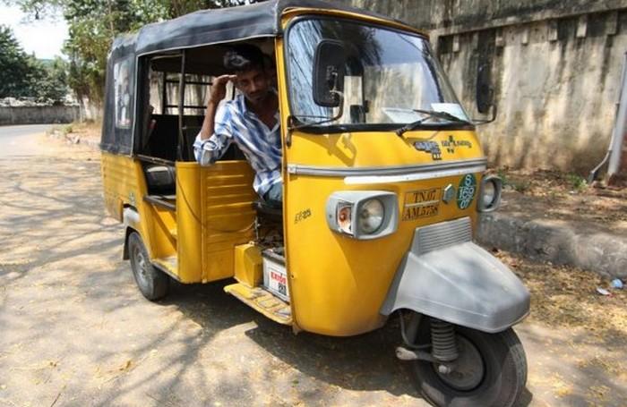 Такси с комфортом по-индийски (1)