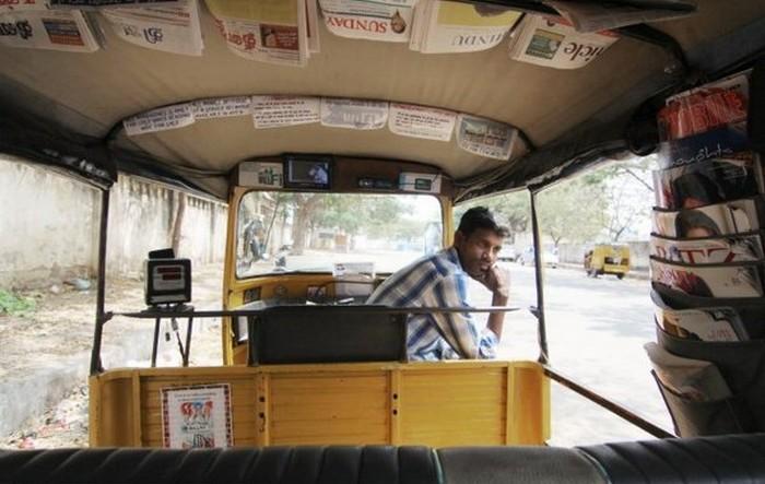 Такси с комфортом по-индийски (7)