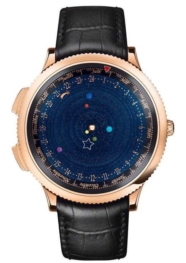 """""""Космические"""" часы Poétique Midnight Planétarium (5)"""