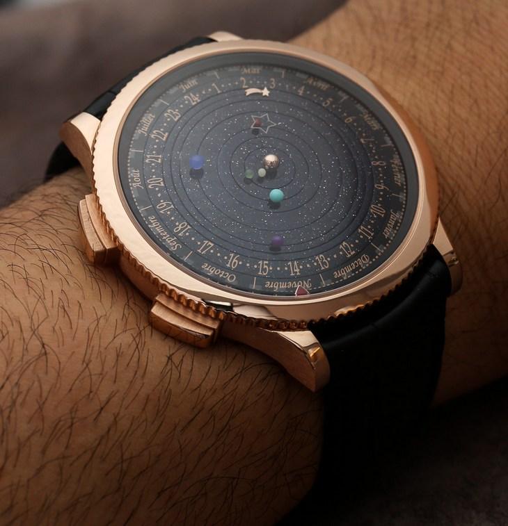 """""""Космические"""" часы Poétique Midnight Planétarium (1)"""