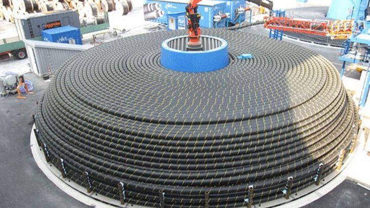 Гигантский силовой кабель для подводной прокладки (3)