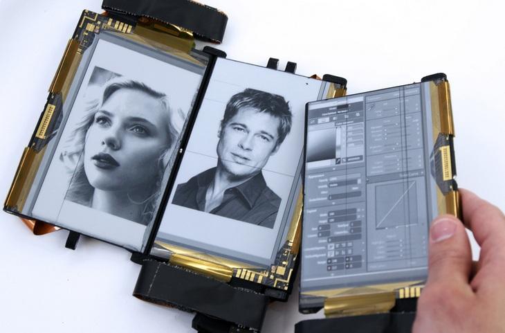 PaperFold: складной смартфон с тремя гибкими дисплеями (1)