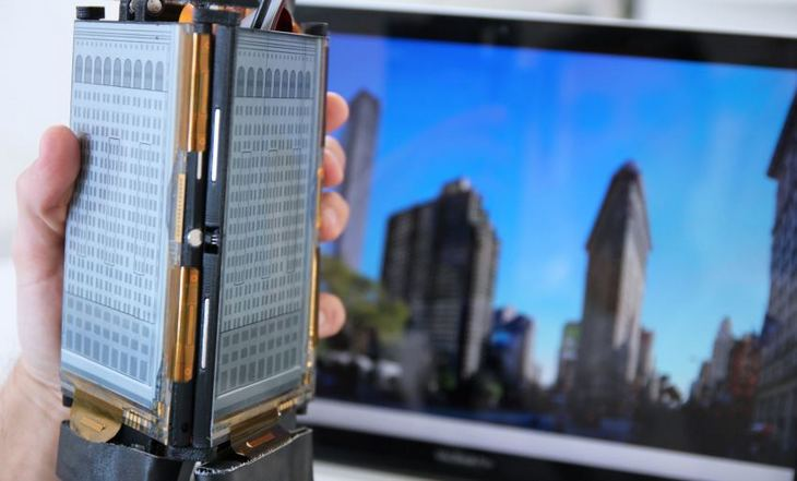 PaperFold: складной смартфон с тремя гибкими дисплеями (2)