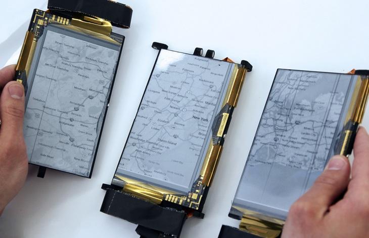 PaperFold: складной смартфон с тремя гибкими дисплеями (6)
