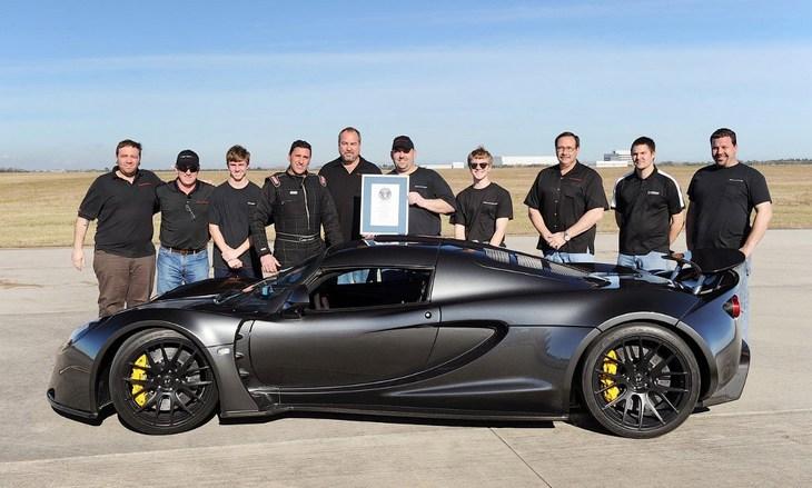 Hennessey Venom GT — самый быстрый серийный автомобиль (2)